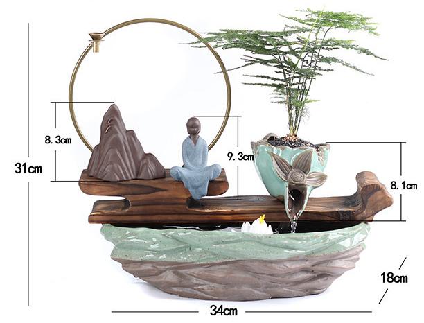 Thác nước phong thủy